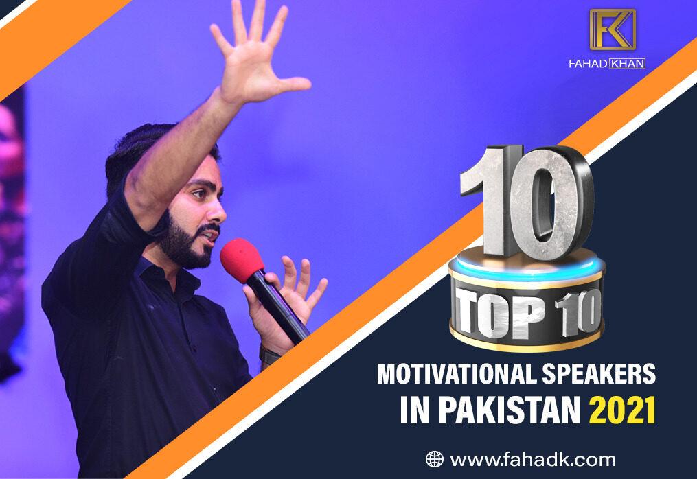 10 Top Motivational speakers in Pakistan 2021